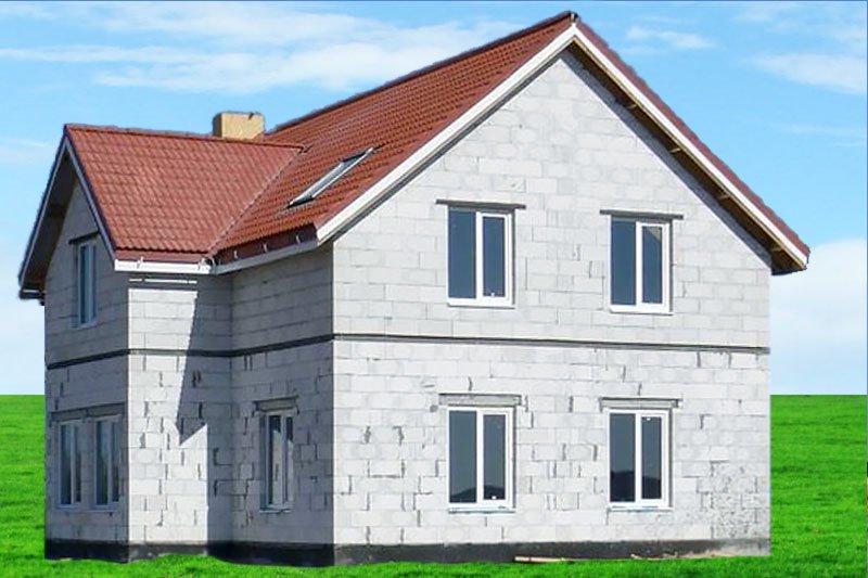 сколько стоит дом из пеноблоков 10х10
